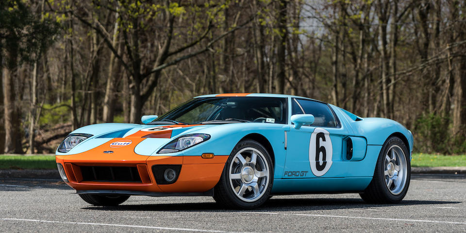 <b>2006 Ford GT Heritage Edition</b><br />VIN. 1FAFP90S66Y400284