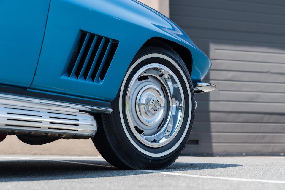 <b>1967 Chevrolet Corvette 427/435HP Roadster</b><br />Chassis no. 194677S121763<br />Engine no. T0526JE 7121763