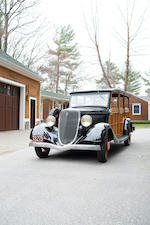 <b>1934 Ford MODEL 40 STATION WAGON</b><br />Chassis no. 86013170