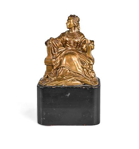 A Sarah Siddons Award gifted to Robert Osborne by Bette Davis
