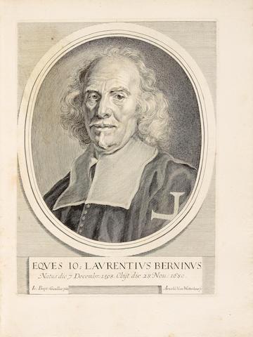 BALDINUCCI, FILIPPO. 1624-1696. Vita del cavaliere Gio. Lorenzo Bernino, scultore, architetto e pittore.... Florence: Vincenzio Vangelisti, 1682.