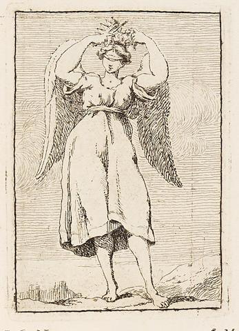BOUDARD, JEAN BAPTISTE. 1710-1768.  Iconologie Tirée de divers Auteurs. Ouvrage Utile aux Gens de Lettres, aux Poëtes, aux Artistes, & généralement à tous les Amateurs des Beaux-Arts.  Parma: Philippe Carmignani, 1759.