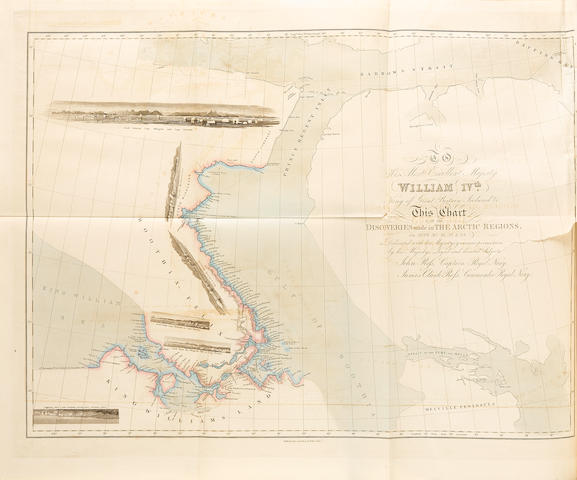 ROSS, JOHN. 1777-1856.  Narrative of a Second Voyage in search of a north-West Passage, and of a Residence in the Arctic Regions during the years 1829.... London:  A.W. Webster,  1835.