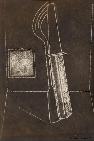 ERNST, MAX. 1891-1976. Crevel, Rene. 1900-1935. Mr. Knife and Miss Fork. Paris: The Black Sun Press, 1931.