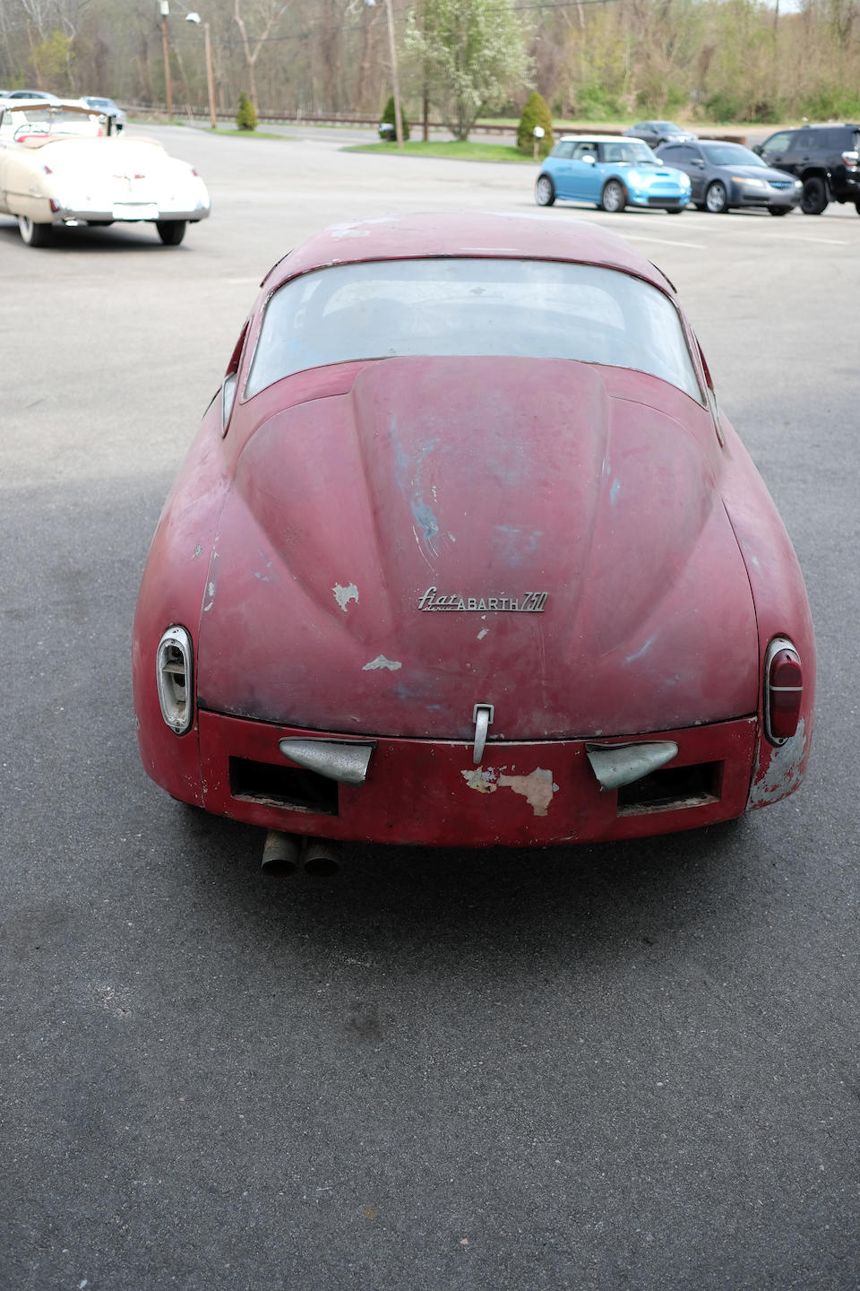 <b>c.1959 Fiat-Abarth 750 Record Monza</b><br />Chassis no. 676193<br />Engine no. 751536
