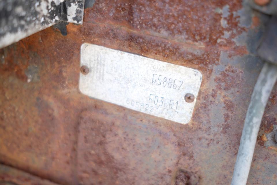 "<b>c.1957 Fiat-Abarth 750 Zagato ""Double Bouble""</b><br />Chassis no. 658862<br />Engine no. 603661"