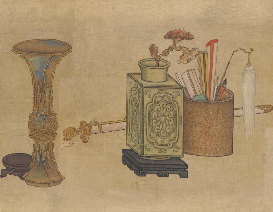 Anonymous (19th century) Antiques and Scholar's Objects
