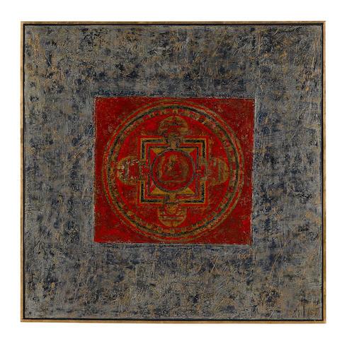 Huang Gang (b. 1961)  Untitled (Mandala)