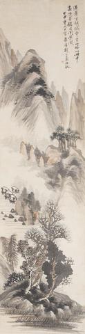 Hu Gongshou (1823-1886)   Mountain and River Landscape