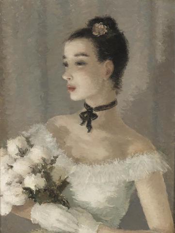 Dietz Edzard (German, 1893-1963) After the performance 26 x 19in (66 x 48cm)