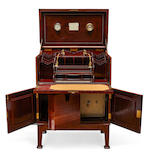 A very good quality Art Deco inlaid thuya desk second quarter 20th century