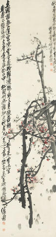Wu Changshuo (1844-1927) Plum Blossoms