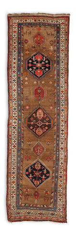 A Serab runner Northwest Persia dimensions approximately 4ft 5in x 13ft 4in (134.5 x 406.5cm)