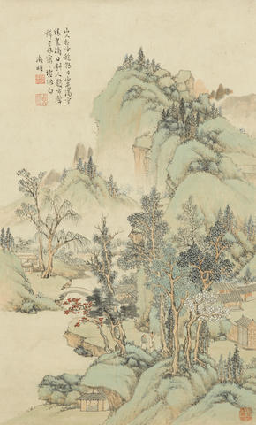 After Wen Zhengming (20th century) Landscape
