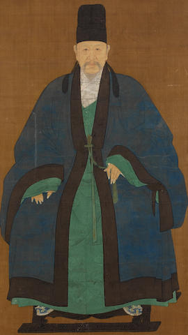 Anonymous (17th/18th century) Portrait of the Scholar Hu Yuan