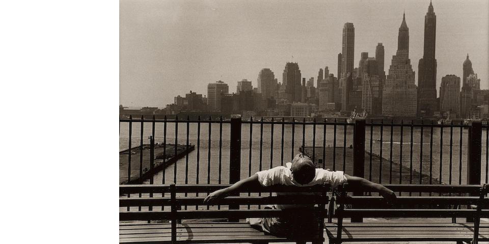 Louis Stettner (1922-2016); Promenade, Brooklyn;