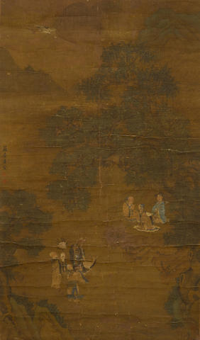After Tang Yin (19th century) Six Sages