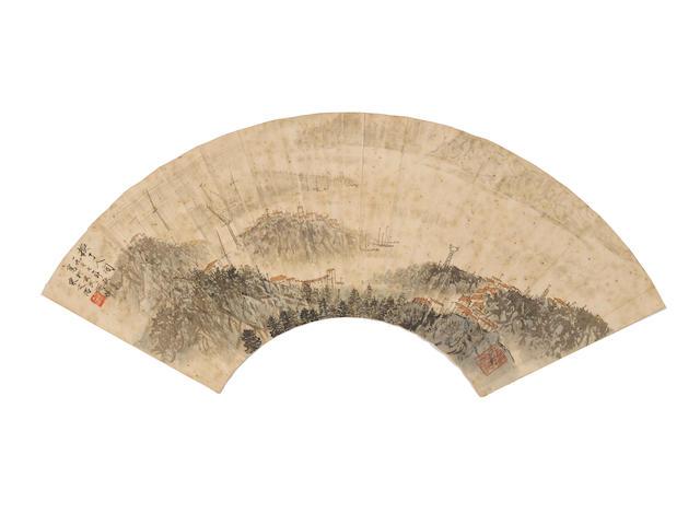 Song Wenzhi (1919-1999) Landscape, 1977