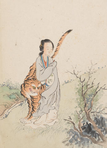 Attributed to Kang Tao (18th century) Beauties