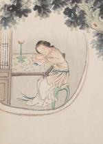 Attributed to Kang Tao (18th century) Beauties