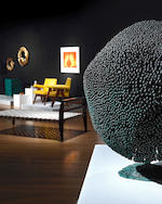 Harry Bertoia (1915-1978) Untitled (Bush Form)circa 1970welded copper and bronze, with applied patinaheight 24 1/2in (62cm); width 22 1/2in (57cm); depth 21in (53.5cm)