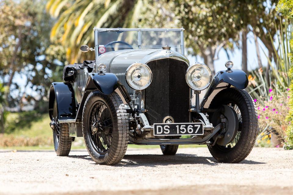 <b>1929 Bentley 4&#189; Liter Sports Tourer</b><br />Chassis no. RL3427<br />Engine no. RL3429