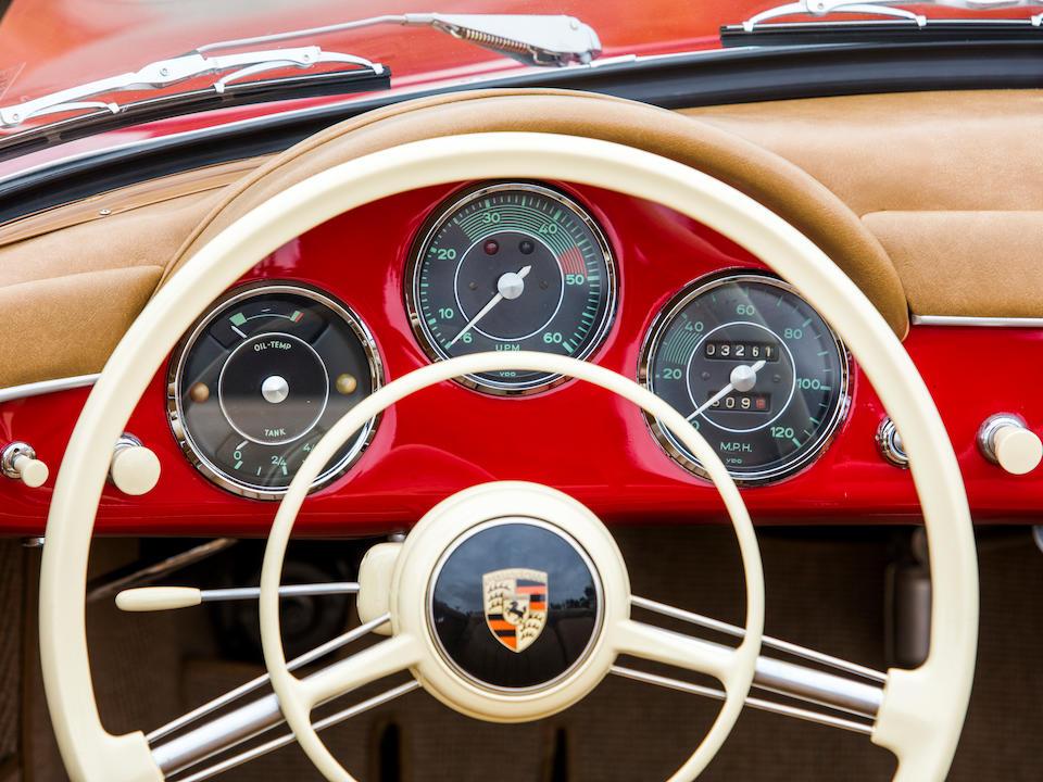<b>1958 Porsche 356A 1600 Super Convertible D</b><br />Chassis no. 85720<br />Engine no. 610402 (see text)