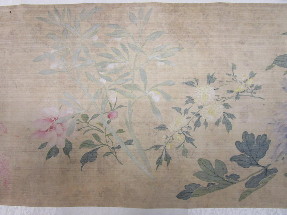 Attributed to Ma Quan (19th century)  Flowers and Plants