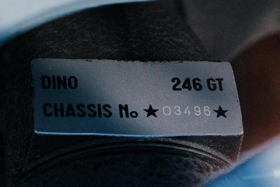 <b>1972 Ferrari Dino 246 GT</b><br />Chassis no. 03496