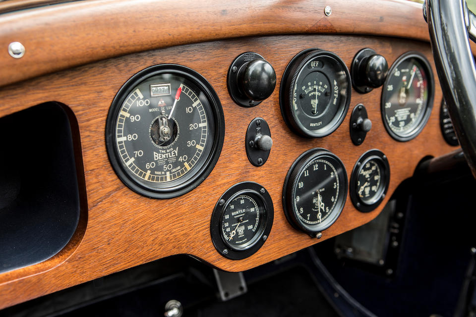 <b>1928 Bentley 6&#189; Liter Open Sports Tourer</b><br />Chassis no. BR2354<br />Engine no. BR2361