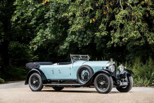 <b>1928 Bentley 6½ Liter Open Sports Tourer</b><br />Chassis no. BR2354<br />Engine no. BR2361