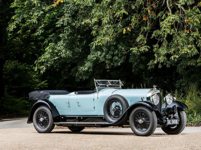 An H.M. Bentley & Partners Demonstrator,1928 Bentley 6½ Liter Open Sports Tourer   Chassis no. BR2354 Engine no. BR2361
