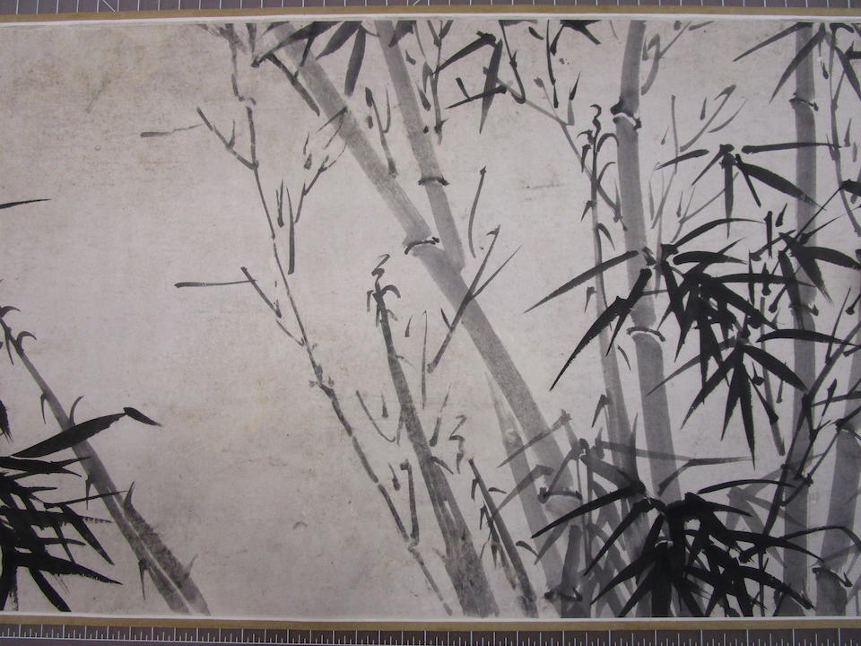 Attributed to Zhou Hao (1685-1773)  Ink Bamboo