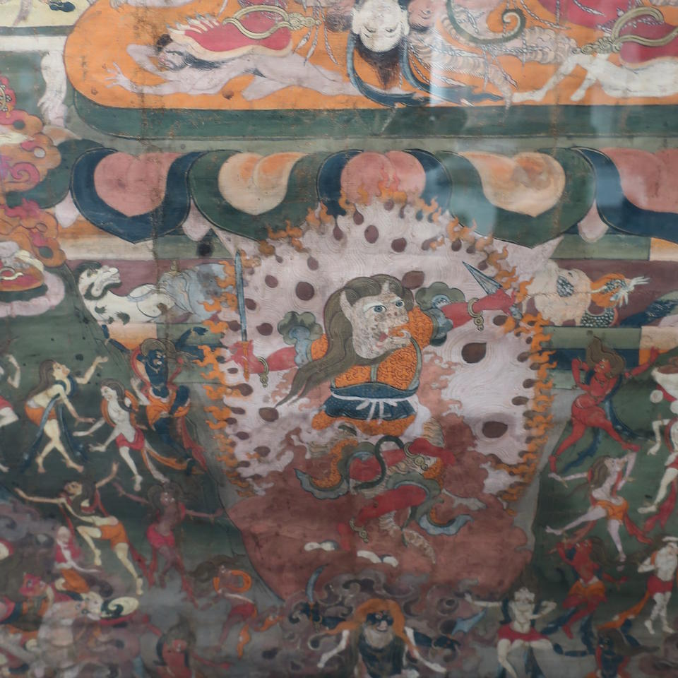 A thangka of Tagla Membar Tibet, 18th/19th century
