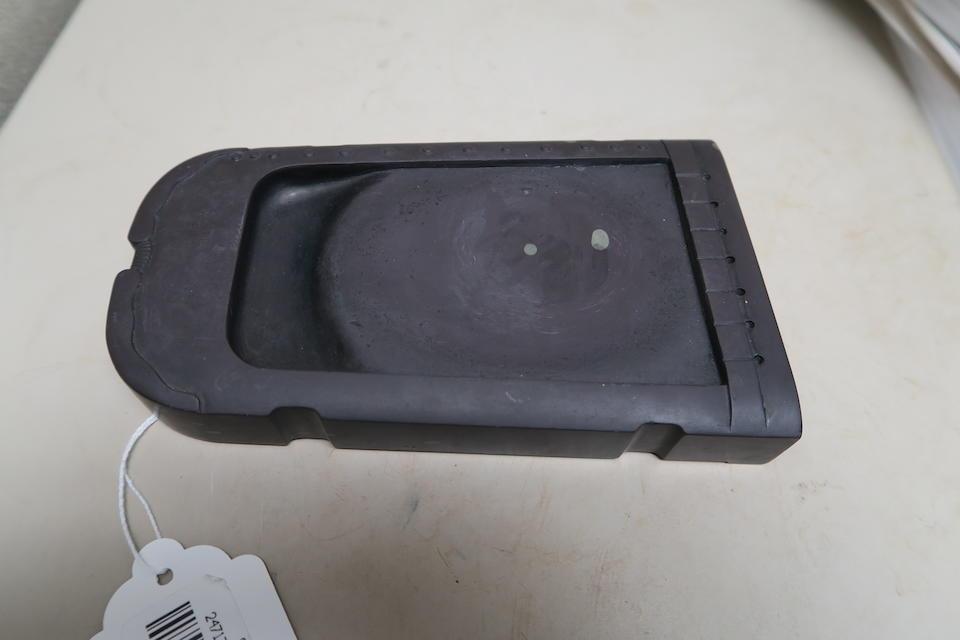 A duanshi ink stone