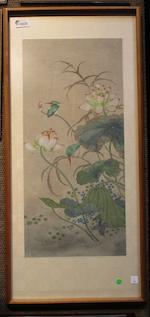 Anonymous (19th Century)  Kingfisher and Lotus