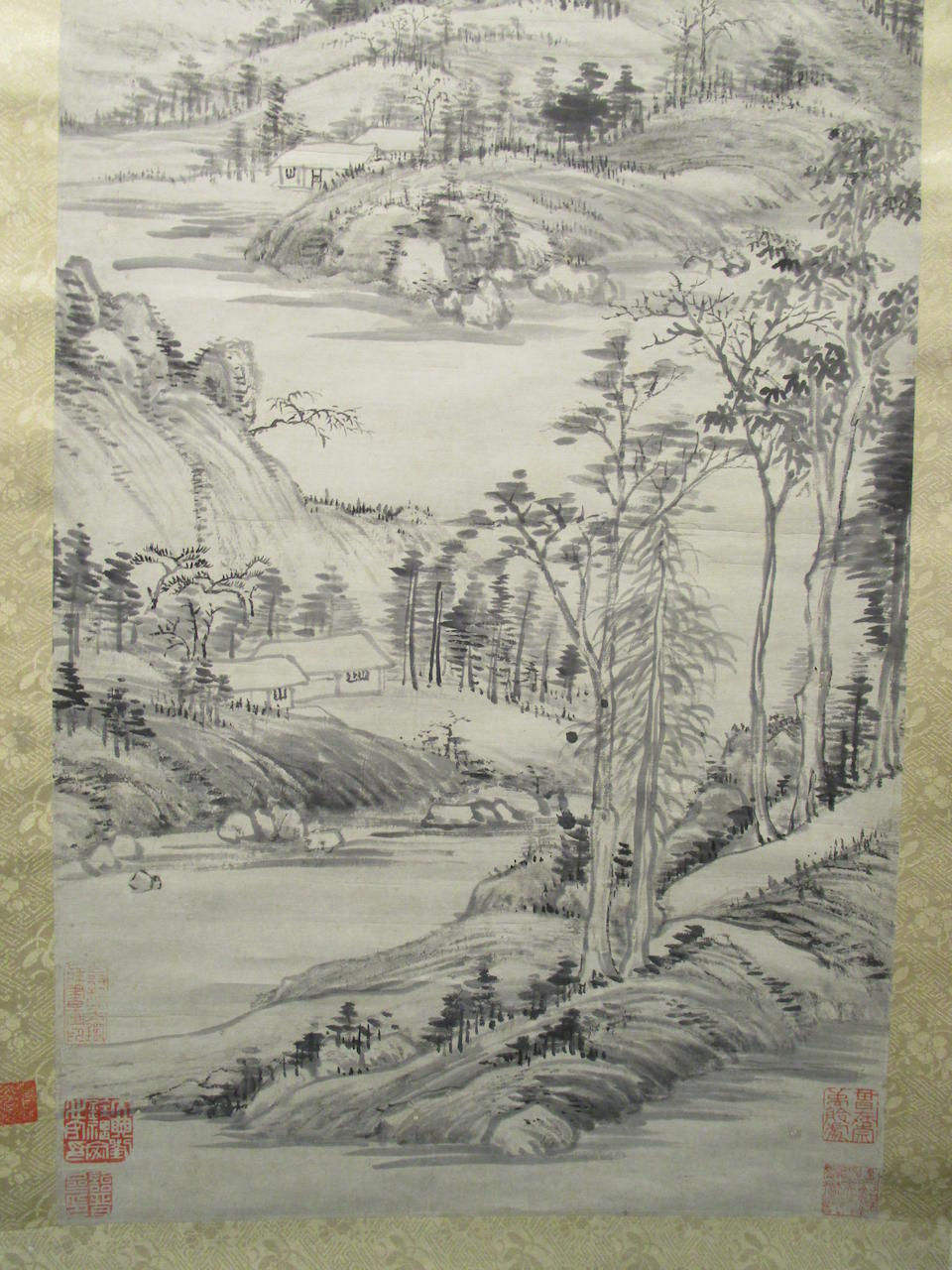 After Wang Hui (19th/20th century) Ink Landscape