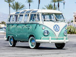 <b>1966 Volkswagen Type-2 Samba 21 Window Bus</b><br />Chassis no. 256015181