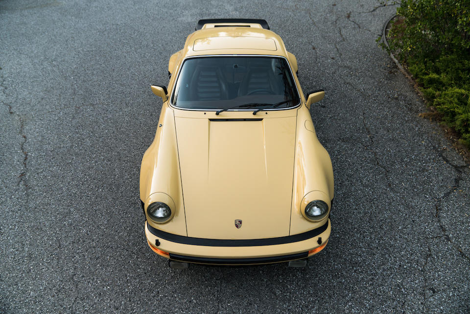 <b>1977 Porsche 930 3.0 Turbo Coupe</b><br />Chassis no. 9307800407<br />Engine no. 6870425