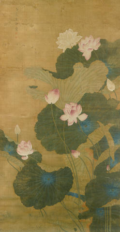 Liu Zhaoting (Qing dynasty)   Boneless lotus