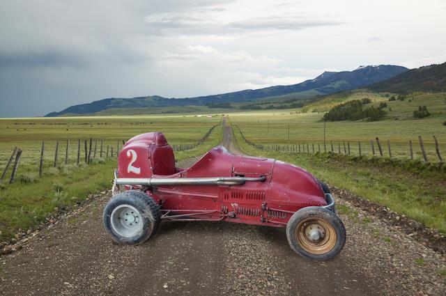 """<b>c.1938 """"Detroit Deluxe Special"""" Midget Racecar</b>"""