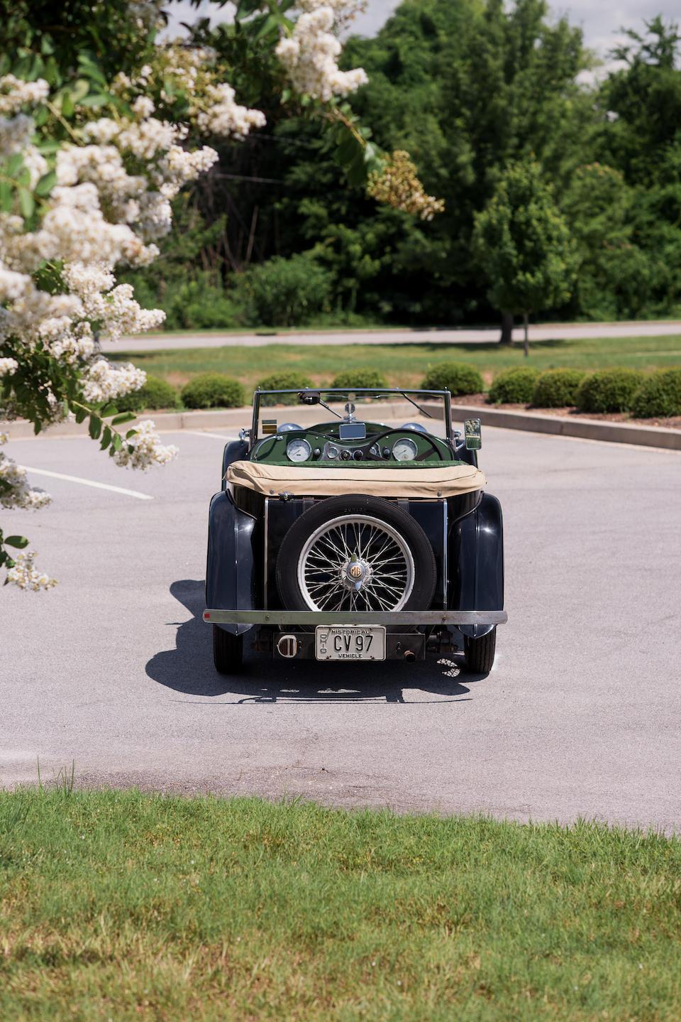 <b>1948 MG TC Midget</b><br />Chassis no. TC/5112<br />Engine no. XPAG 5733