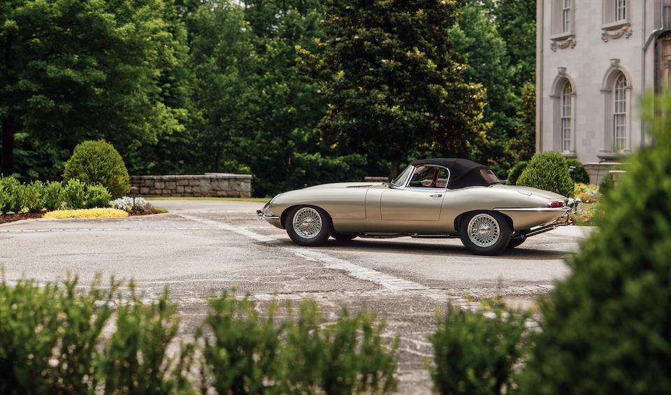<b>1964 Jaguar E-Type Series I 3.8 Roadster</b><br />Chassis no. 881329<br />Engine no. RA6262-9