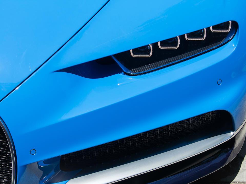 <b>2018 Bugatti Chiron</b><br />VIN. VF9SP3V31JM795073