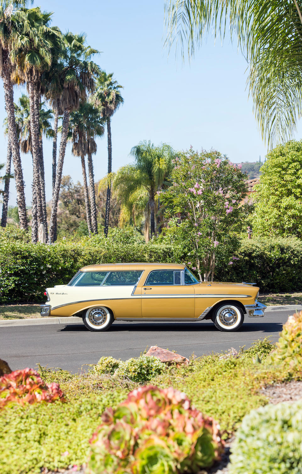 <b>1956 Chevrolet Bel Air Nomad Sport Wagon</b><br />Chassis no. VC56L091264<br />Engine no. VC56L091264