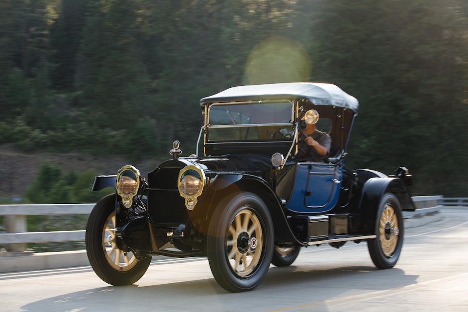 <b>1916 Packard 1-25 Twin Six Runabout</b><br />Chassis no. 82715<br />Engine no. 82715
