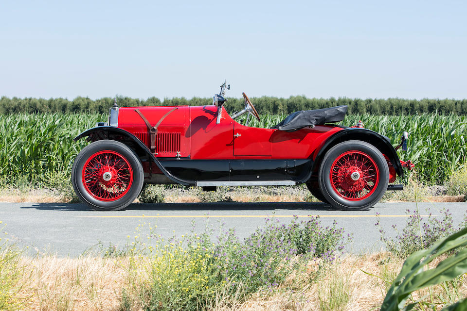 <b>1921 Stutz Series K Bearcat</b><br />Chassis no. 10166<br />Engine no. K10284