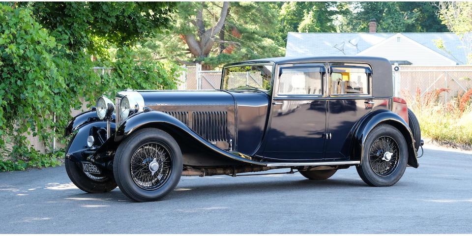 Bonhams 1931 Bentley 8 Litre Silent Bloc Saloon Offered In The
