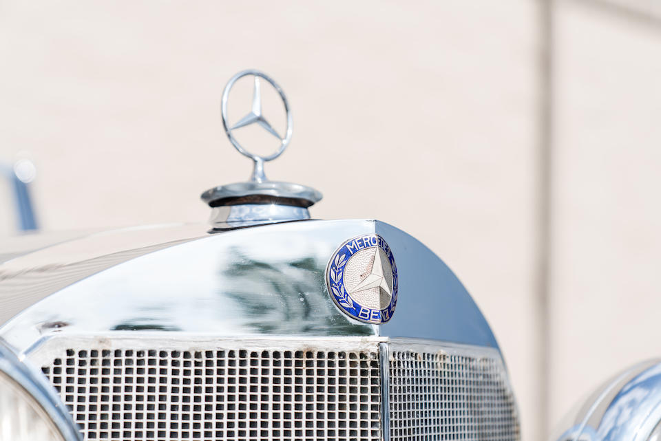 <b>1936 Mercedes-Benz 500K Touring Phaeton</b><br />Chassis no. 11369<br />Engine no. 113696