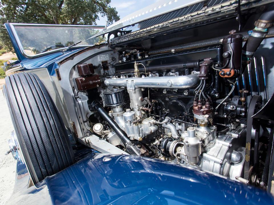 <b>1934 Rolls-Royce Phantom II Continental Drophead Coupe</b><br />Chassis no. 203RY<br />Engine no. NZ45